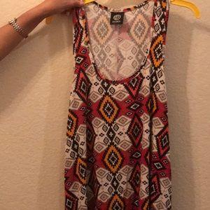 Bobeau Mini Dress Made in USA Sz. M